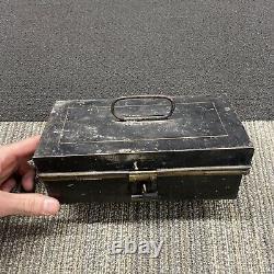 1900 Thos E Wilson Tin Concessions Box Baseball Vintage Antique 1920