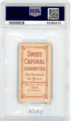 1909-11 T206 Joe Tinker Bat Off Shoulder PSA 2.5 HOF Vintage Tobacco Card