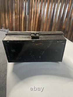1920 Wilson Tin Box Baseball 1900 Advertising Display Bat Glove Old Vintage