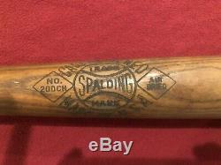 1930's Vintage Spalding Baseball Bat