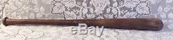 1934-1936 A. G. Spalding Vintage Baseball Bat 36 Model 140B Selected Models Wood