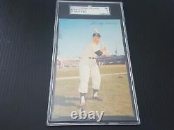 1953 -1955 Dormand Mickey Mantle Batting Vintage Graded SGC 5 EX NY Yankees