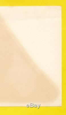1956-1957 Mac Boy Decal Mickey Mantle Vintage Bat Label Sticker Macboy Yellow