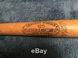 1965-68 36 INCH TONY PEREZ LOUISVILLE SLUGGER VTG 125 Baseball Bat