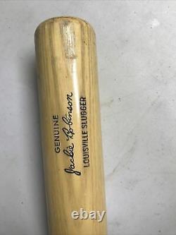 1965-68 Jackie Robinson 36 Louisville Slugger 125 Powerized Vtg Baseball Bat