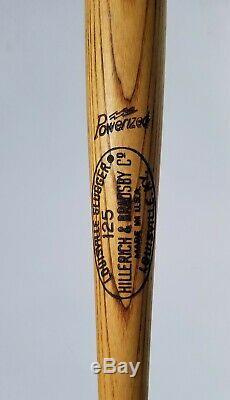 1969-72 Jerry May S226 Game Used 35 33 Oz Vtg Louisville Slugger Baseball Bat