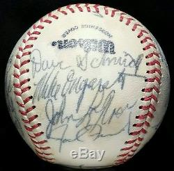 1980 Pawtucket Red Sox Team Signed Baseball PRE-ROOKIE WADE BOGGS Auto HOF vtg