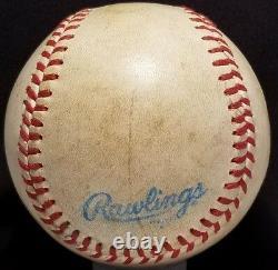 1981 GEORGE BRETT Signed OAL Baseball Auto vtg Mac Phail KANSAS CITY ROYALS TEAM