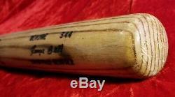 1984-85 GEORGE BELL GAME USED Baseball BAT vtg SLU 80s Toronto Blue Jays Team