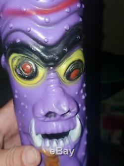 1986 Madballs Purple Count Dracula Toy Baseball Bat, Vintage, Collectors, Hobby