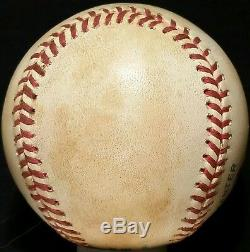 1990s JOSE CANSECO Signed GAME USED OAL Baseball OAKLAND ATHLETICS A's TEAM vtg