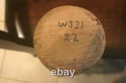1997 Vintage WALLY JOYNER game used cracked bat Rawlings WJ21 Heavily Used