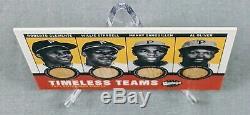 2001 Upper Deck Baseball Vintage Timeless Teams Bat 25/100 Clemente, Stargell UD