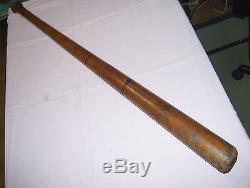 36 inch Vintage Antique LEAGUE MODEL 4 Ring Baseball Bat Artifact