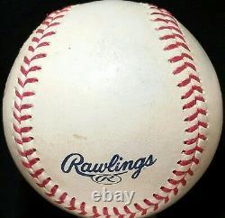 ALEX RODRIGUEZ Signed GAME USED Baseball New York Yankees Team vtg Arod Auto