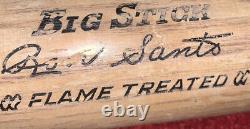Adirondack Big Stick Ron Santo Flame Treated 36 Baseball Bat Vintage Model Class