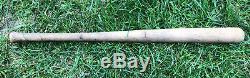 Antique 1909 TY COBB Ball Bat Mini Baseball Bat 25.75 Detroit Tigers Vtg Rare