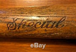 Antique 1920s 1930s Vintage Wood Baseball Bat The Bingler Special 4 St. Louis
