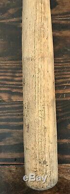 Antique Early Vtg 1890s-1900s Wood Baseball Bat with Bulbous Acorn Knob Handle 36
