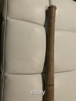 Antique Vintage 1890s-1900 Townball Ring Bat Baseball Bat 33 Long