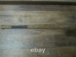 Antique Vintage A. J. Reach Co. The BURLEY Model R 1 No 4/0 Wood Baseball Bat