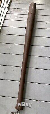 Antique Vintage HUGE 70 Inch Wooden Baseball Bat Store Trade Sign