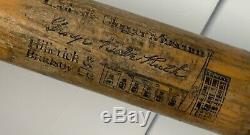 Babe Ruth 34 Louisville Slugger Museum Vintage Baseball Bat Hillerich & Bradsby