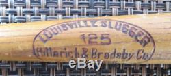 Babe Ruth Mini Baseball Bat Hillerich & Bradsby Louisville Slugger 125 14 VTG