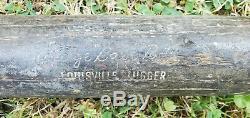 Babe Ruth Vintage Black Betsy 125 Bb Louisville Slugger Baseball Bat-super Rare