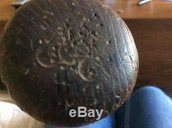 Ben Chapman Vintage Louisville Slugger 35 Powerized Oil Tempered baseball bat