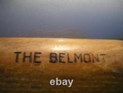 Blackman & Burchfield Belmont Wood baseball bat Vintage 35