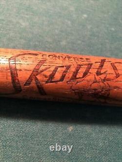 Converse Skoots Baseball Bat Great Logo Vintage Old