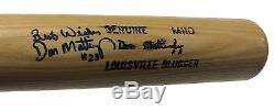 Don Mattingly Signed Inscribed Game Model Baseball Bat Vintage Auto Yankees PSA