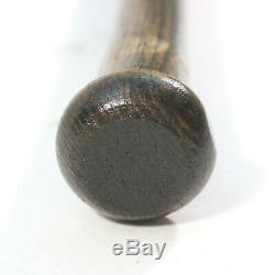 Early 1900's Reach Burley Decal Vintage Bat Dark Finish Baseball Bat