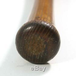 Early 1900's Shoeless Joe Jackson White Sox Vintage Decal Baseball Bat
