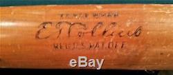Eddie Collins vintage model Louisville Slugger EC 40 baseball bat
