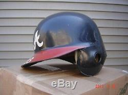 Game Worn Used Atlanta Braves Vintage Baseball Batting Helmet All-Star Game Japa