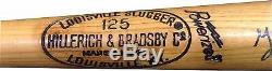 George Kell Signed Louisville Slugger Pro Model Baseball Bat Vintage CBM COA
