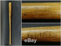 Giants No G100 Special Antique Baseball Bat, Early 1900s 1910s Vintage