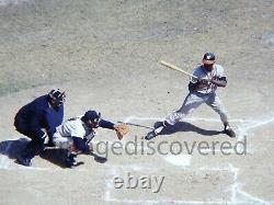 Hank Aaron Batting 1961 Original Vintage Transparency Photo Rare