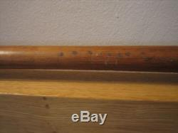 Hank Sauer 1940 Vintage Game Used Hanna BATRITE bat Early Cupped Cubs Reds