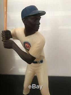 Hartland Ernie Banks, Vintage Statue with Original Bat (FREE SHIPPING)