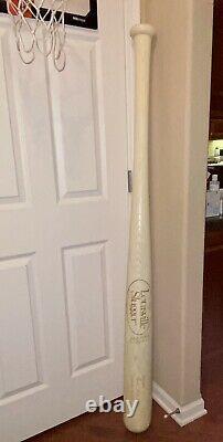 Huge Vintage Louisville Slugger! Store Display Babe Ruth Baseball Bat 66 length