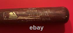 JEFF SUPPAN Louisville Slugger MLB Baseball Bat Signed Vtg Game Brewers Cardinal