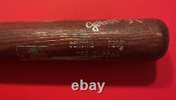 JEFF SUPPAN Louisville Slugger MLB Baseball Bat Signed Vtg Game Used Brewers