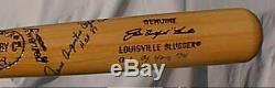 Jim Catfish Hunter Autographed Louisville Slugger 125 Vintage Baseball Bat