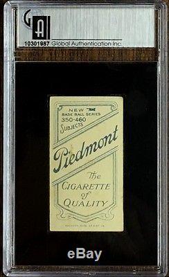 Joe Tinker T206 Bat On Version T-206 Piedmont Back Vintage Tobacco Card