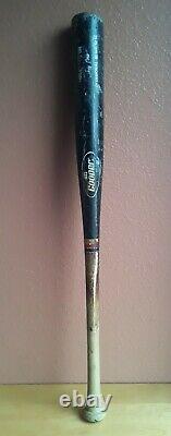Joey Cora Game Used Mlb Cooper Professional Baseball Bat Black Vtg Wow