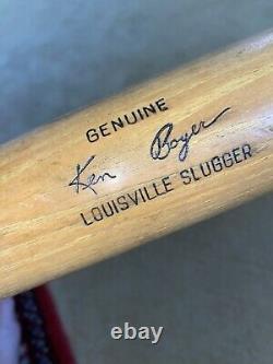 KILLER Antique KEN BOYER 1950s H & B Old Vintage Baseball Bat SUPER CIRCA Early
