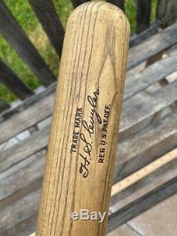KILLER Antique KIKI CUYLER 1920s Bone Rubbed Vintage Baseball Bat SUPER HOF Old